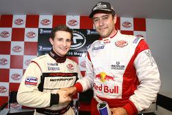 Les plus rapides en pre-qualifications : Martin Ragginger en GT2 et Karl Wendlinger en GT1