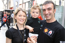 Andrea Bertolini avec sa famille