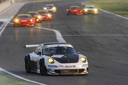La Porsche 997 GT3 RSR N°60 : Emmanuel Collard, Richard Westbrook