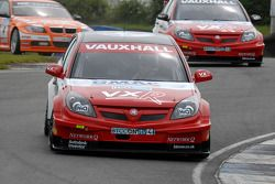 Fabrizio Giovanardi leads Matt Neal and Colin Turkington