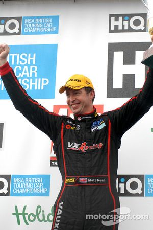 Matt Neal third place for Round 7