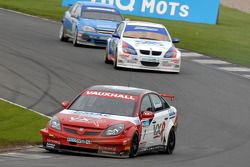 Fabrizio Giovanardi leads Jonny Adam and Jason Plato
