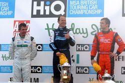 Jason Plato, Rob Collard et Colin Turkington
