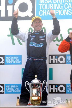 Race winner Rob Collard