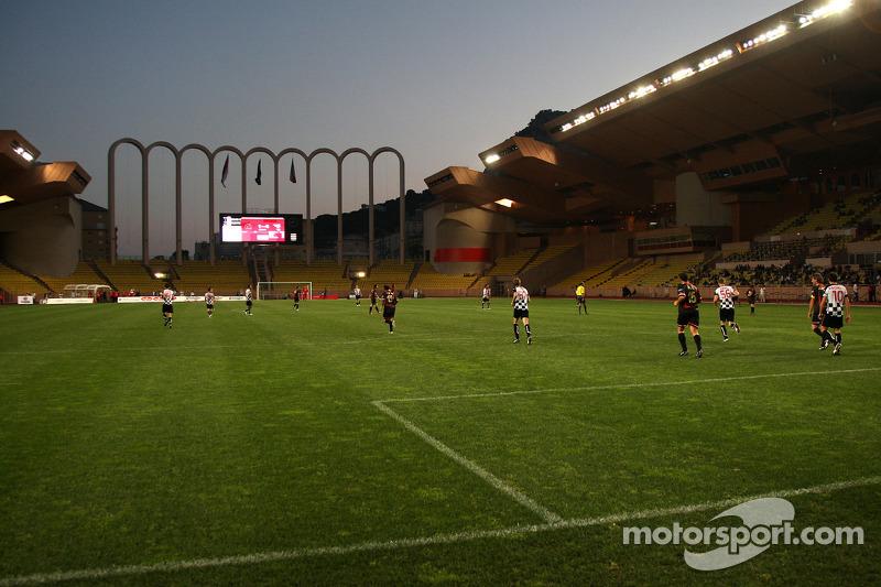 Star Team vs Nazionale Piloti, Charity Football Match, Monaco, Stade Louis II: Star Team vs Nazional