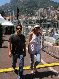 Timo Glock, Toyota F1 Team ve kız arkadaşı
