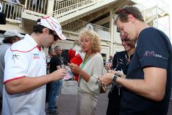 Timo Glock, Toyota F1 Team, Sebastian Vettel, Red Bull Racing