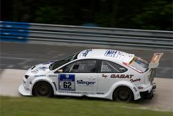 #62 Ford Focus: Björn Herrmann, Christian Steffens, Frank Döring