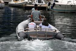 Martin Whitmarsh, McLaren, Şef Sorumlusu ve Norbert Haug, Mercedes, Motorsport chief, there way to F