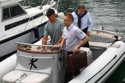 Martin Whitmarsh, McLaren, Şef Sorumlusu ve Norbert Haug, Mercedes, Motorsport chief going to FOTA m