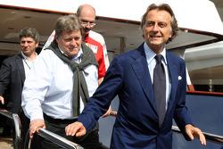Luca di Montezemolo, Scuderia Ferrari, FIAT Yönetim Kurulu Başkanı ve Başkanı, Ferrari, Norbert Haug