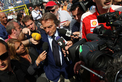 Luca di Montezemolo, Scuderia Ferrari, FIAT Yönetim Kurulu Başkanı ve Başkanı, Ferrari leave FOTA me