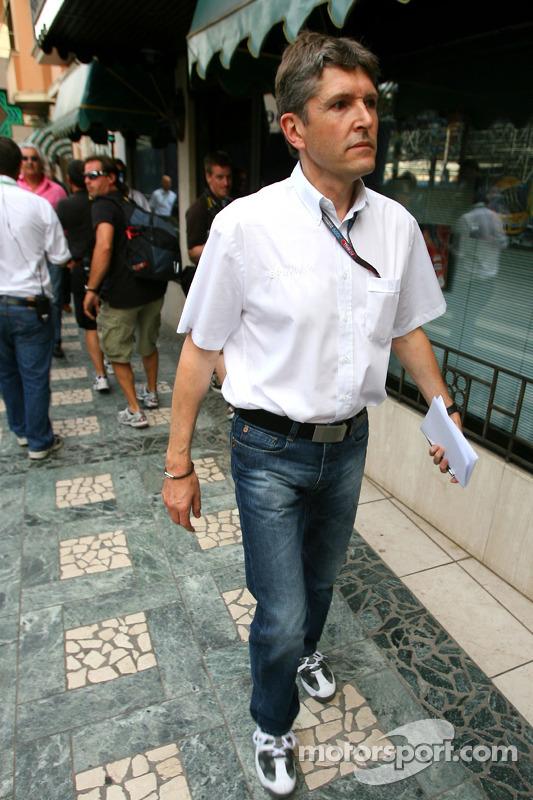 Nick Fry, Brawn GP CEO