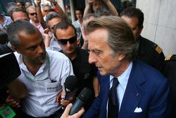 Luca di Montezemolo, Scuderia Ferrari, FIAT Yönetim Kurulu Başkanı ve Başkanı, Ferrari goes to meeti
