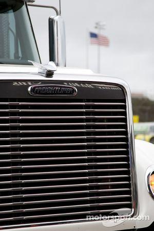 Les camions des Sprint Cup Series dans le Lowe's Motor Speedway