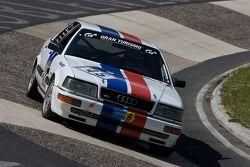 #45 Derichs Rennwagen e.V. Audi V8 D11: Keith Ahlers, Christian Bock, Erwin Derichs