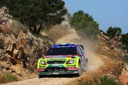 Khalid Al Qassimi et Michael Orr, BP Ford Abu Dhabi World Rally Team, Ford Focus RS WRC