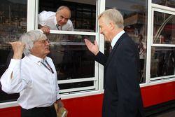 Bernie Ecclestone and Max Mosley, FIA President