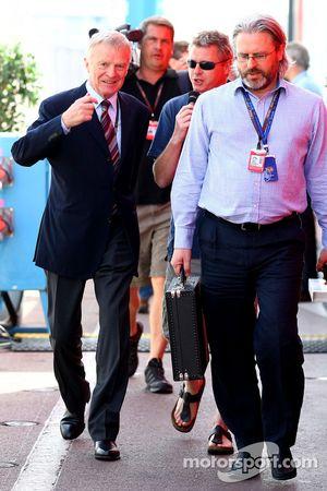 Max Mosley, FIA President en Richard Woods, FIA