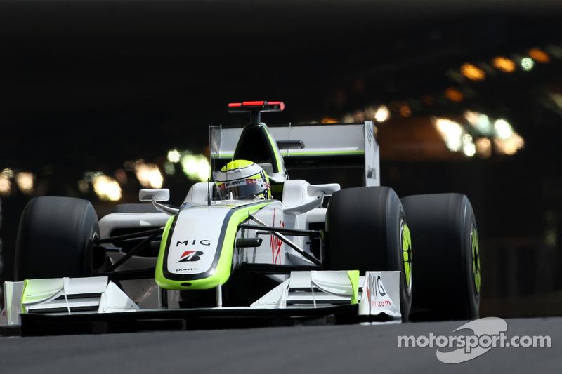 2009: Ganador de la carrera Jenson Button (Brawn-Mercedes BGP 001)