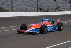 John Andretti entre dans les stands