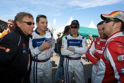 #40 Raeder Automotive GmbH Ford GT: Herman Tilke, Marc Henerici, Thomas Mutsch, Edgar Althoff et Kenneth Heyer