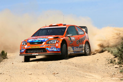 Henning Solberg and Cato Menkerud, Stobart VK M-Sport Ford World Rally Team, Ford Focus RS WRC 2008
