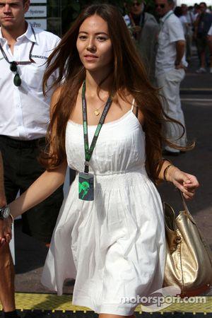 Novia de Jenson Button Jessica Michibata