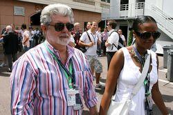 George Lucas, director de las películas de Star Wars