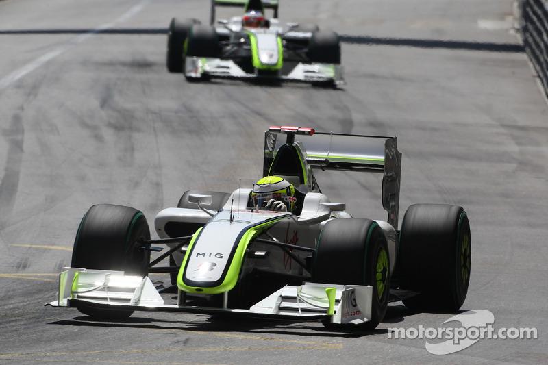Jenson Button, Brawn GP ve Rubens Barrichello, Brawn GP