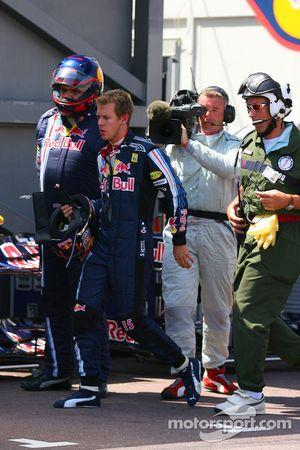 Sebastian Vettel, Red Bull Racing se retira de la carrera