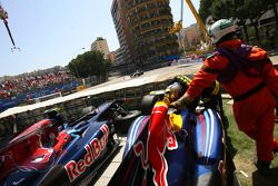 Autos de Sebastian Vettel, Red Bull Racing y Sebastien Buemi, Scuderia Toro Rosso