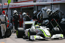 Pitstop of Jenson Button, Brawn GP