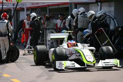 Pitstop of Rubens Barrichello, Brawn GP