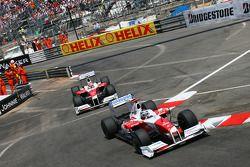 Jarno Trulli, Toyota F1 Team y Timo Glock, Toyota F1 Team