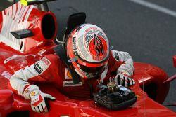 Tercer lugar Kimi Raikkonen, Scuderia Ferrari