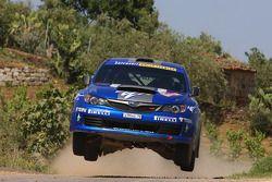 Patrick Flodin et Goran Bergsten, Subaru Impreza STI