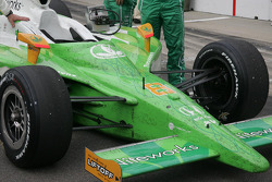 The car of Townsend Bell, KV Racing Technology