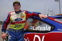 Le vainqueur Jari-Matti Latvala