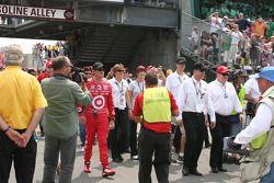 Scott Dixon et Chip Ganassi descendent la Gasoline Alley