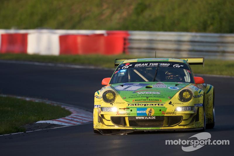 2009: Timo Bernhard, Marc Lieb, Romain Dumas, Marcel Tiemann (Porsche 911 GT3 RSR)