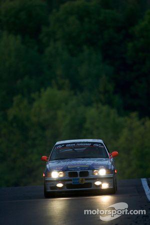 #180 MSC Rhön e.V. im AvD BMW M3 GT: Ulli Packeisen, Luca Zoppini, Maurizio Calvallari