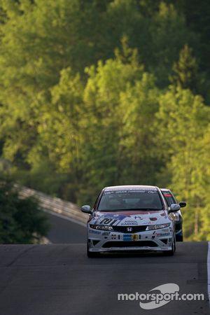 #101 Mathol Racing Honda Type-R: Rädiger Schicht, Hisanao Kurata, Uwe Bergstermann, Mike Juul
