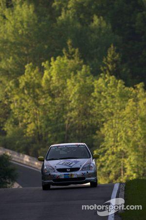 #191 Honda Civic Type-R: Ola Setsaas, Jörgen Pettersen, Mikjel Svae