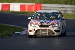 #78 Team DMV Ford Focus ST: Ebse Schneider, Bernd Albrecht, Corentine Quiniou, Michael Lachmayer