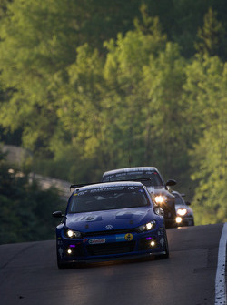 #116 Volkswagen Motorsport Volkswagen Scirocco GT24: Altfrid Heger, Carlo van Dam, Congfu Cheng, Franck Mailleux