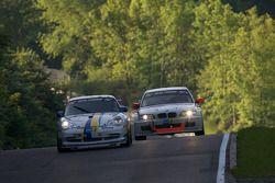 #33 Porsche Center Boras Porsche 996 GT3 Cup: Christer Pernvall, Cleas Lund, Hans Andreasson, #149 RG Berg Gladbach e.V. im ADAC BMW 330d: Thomas Haider, Rainer Kutsch, Marc Hiltscher