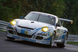 #123 Mühlner Motorsport SPRL Porsche 997 Cup S: Heinz-Josef Bermes, Oliver Kainz, Frank Schmickler, Mark Thomas
