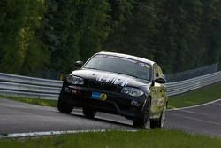 #135 Dörr Motorsport BMW 120d: Heiko Hahn, Kristian Vetter, Frank Weishar, Tom Moran