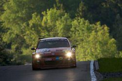 #115 Volkswagen Motorsport Volkswagen Scirocco GT24: Vanina Ickx, Thomas Klenke, Peter Terting, Klaus Niedzwiedz